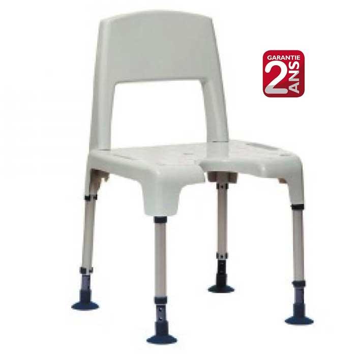Chaise de douche aquatec pico modulable et d montable en tabouret - Chaise de douche aquatec ...