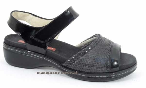 chaussures confort pieds sensibles 2816 sandales confort. Black Bedroom Furniture Sets. Home Design Ideas