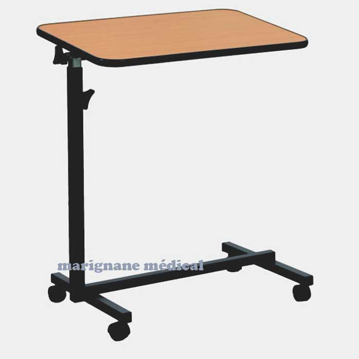 table de lit m dicale plateau de lit table d 39 alit marignane medical. Black Bedroom Furniture Sets. Home Design Ideas