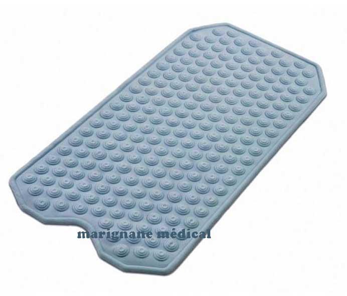 Tapis De Baignoire Anti Derapant Caoutchouc Naturel Marignane Medical
