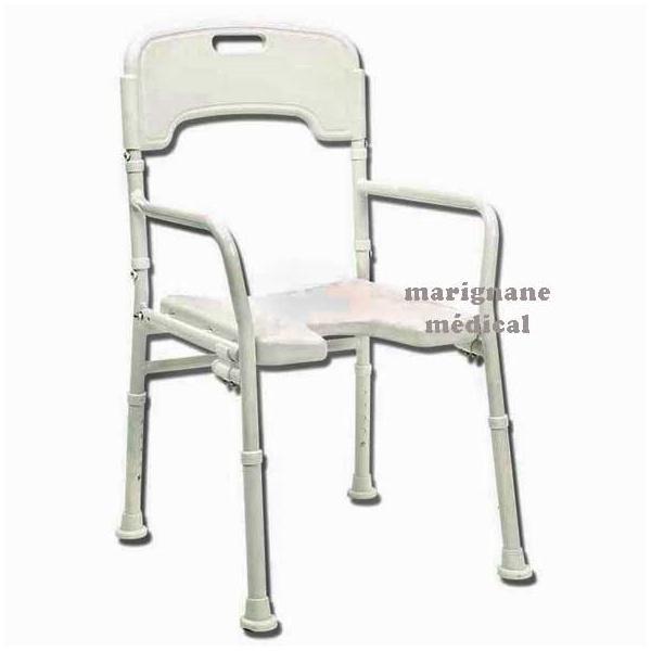 chaise de douche pliante laly tabouret de douche. Black Bedroom Furniture Sets. Home Design Ideas