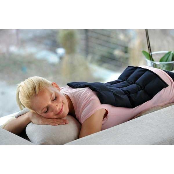 coussin chauffant de graines de lin compresse de lin. Black Bedroom Furniture Sets. Home Design Ideas