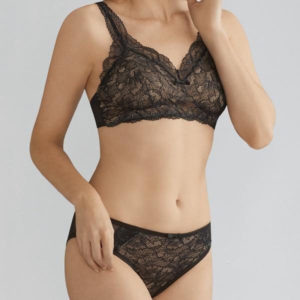 New York réflexions sur convient aux hommes/femmes Soutien-gorge pour prothèse mammaire Melody Noir / Peau