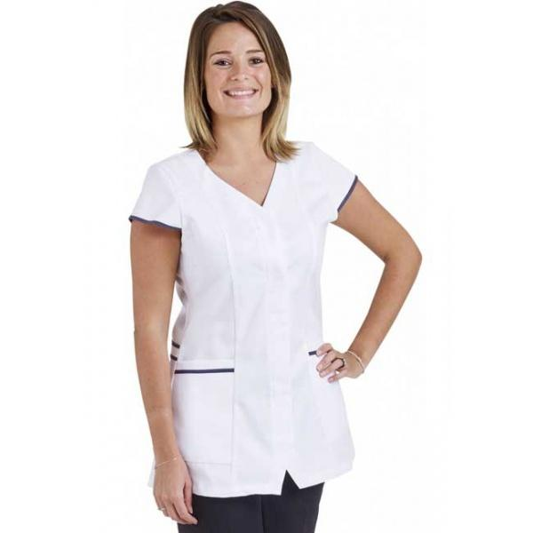 tunique-medicale-femme-ophelie-blanc-anthracite
